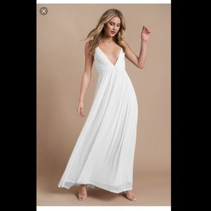 Plunging Maxi Dress